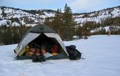 Výlet: Kempování na sněhu - Lake Tahoe